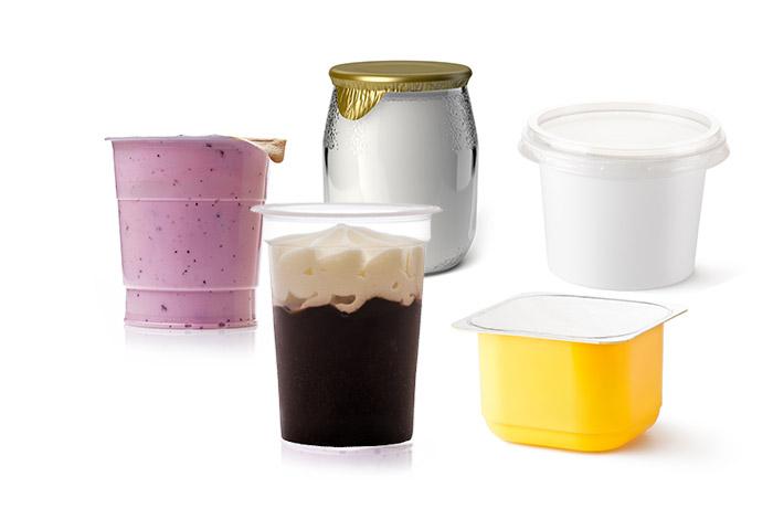 Dosage de yaourts, crèmes dessert, crème fraîche