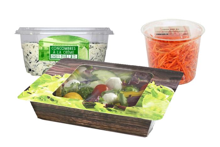 Dosage de salades traiteur en frais