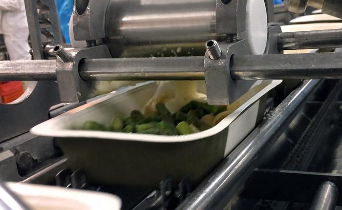 Fillpack - Nappage de sauce lisse sur plat cuisiné
