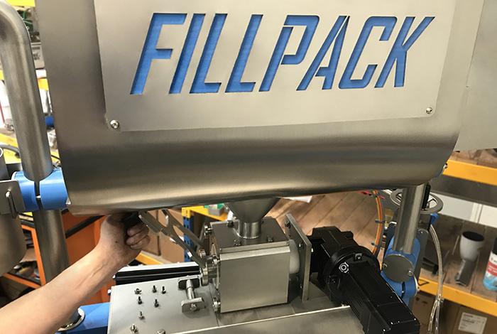 Fillpack - Assemblage d'une machine dans nos ateliers